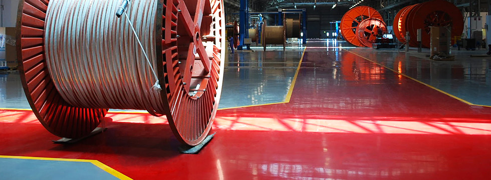 Industrial Flooring - Hard-Wearing Epoxy, Impact Resistant