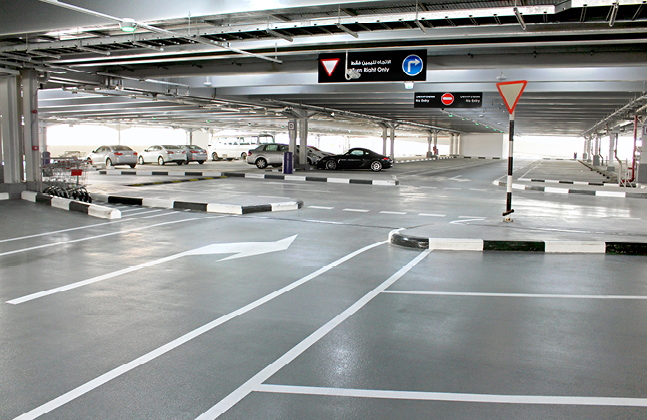 Mall of the Emirates Car Park Evolution Features Flowcrete