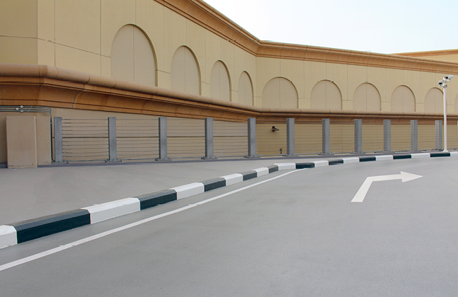 Mall of the Emirates' Car Park Renovation First Phase Reaches Completion.