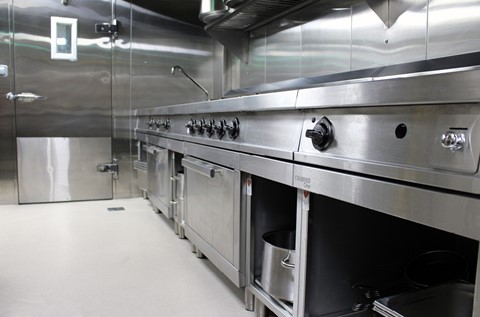 Luxury Restaurant Coats Kitchen with Flowfast Quartz